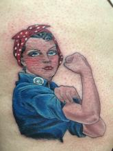 We Can Do It Tattoo